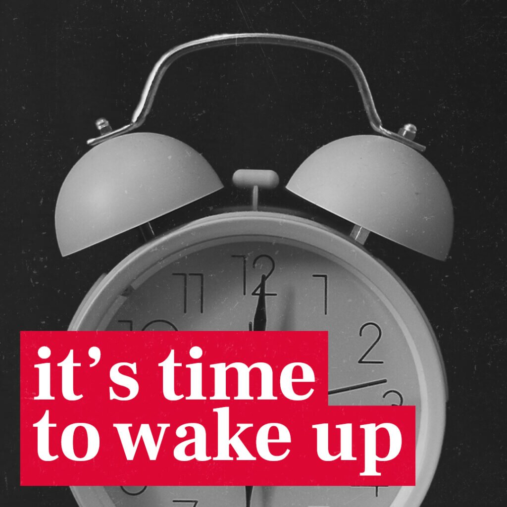 It's time for businesses to wake up!
